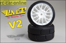 PMT-Supreme Profile Rear tires, glued soft H07 V2, 2pcs.