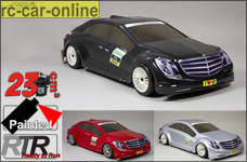 Smartech C5 with 2,4 GHz radio control and painted Mercedes Benz body shell to choose