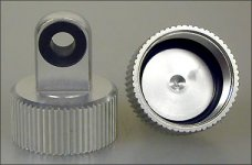 GPM Part 03 SCS03/5mm shock cap, upper, 5 mm for FG 4WD rear