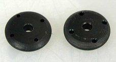 GPM Part 14 SCS14 shock piston, Delrin, 4 holes, 2 pcs.