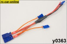 Servo direct power supply cable, 1 pce.