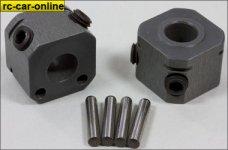 y6107/01 Wheel squares 18 mm HART-COAT, 14 mm wide, 1 pair
