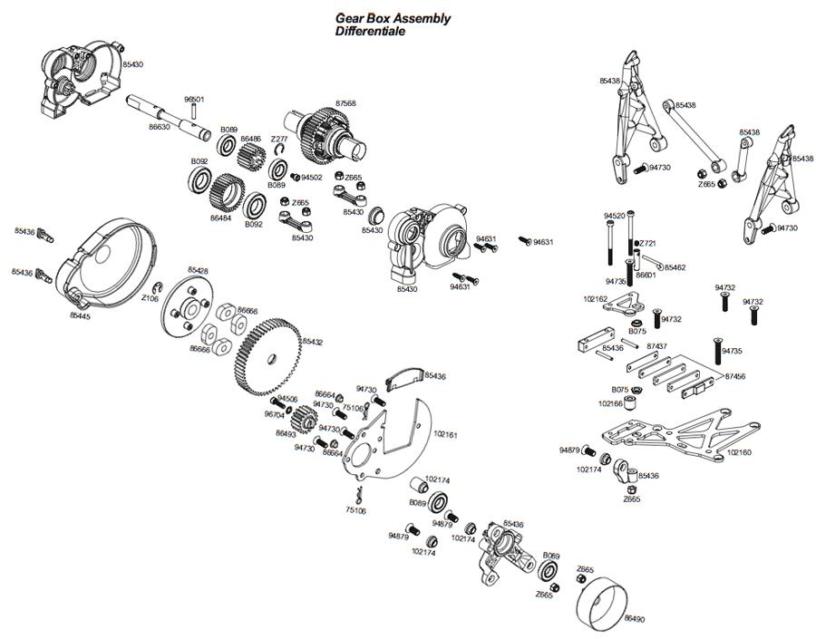 Baja 5b Rc Car Wiring Diagram And Fuse Box
