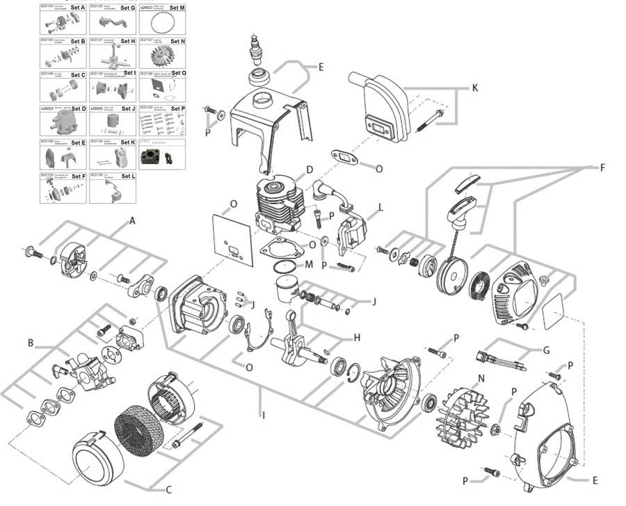 Part Scout - Standard engines - Smartech / Nutech / Carson PT Engine ...