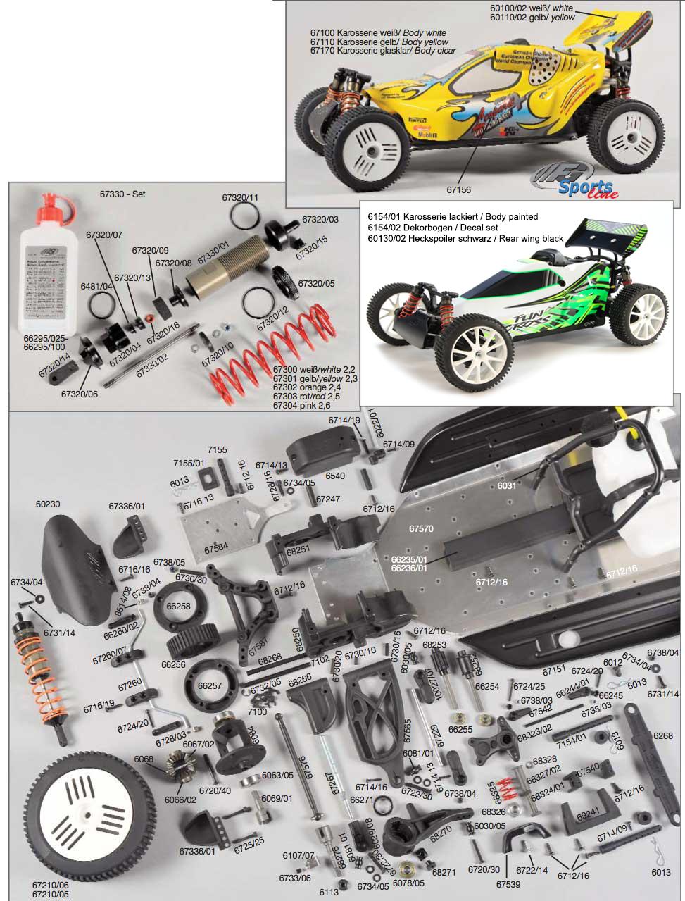 Part Scout - FG - 4WD Buggies - Leopard Sportsline 4WD / Fun Cross ...