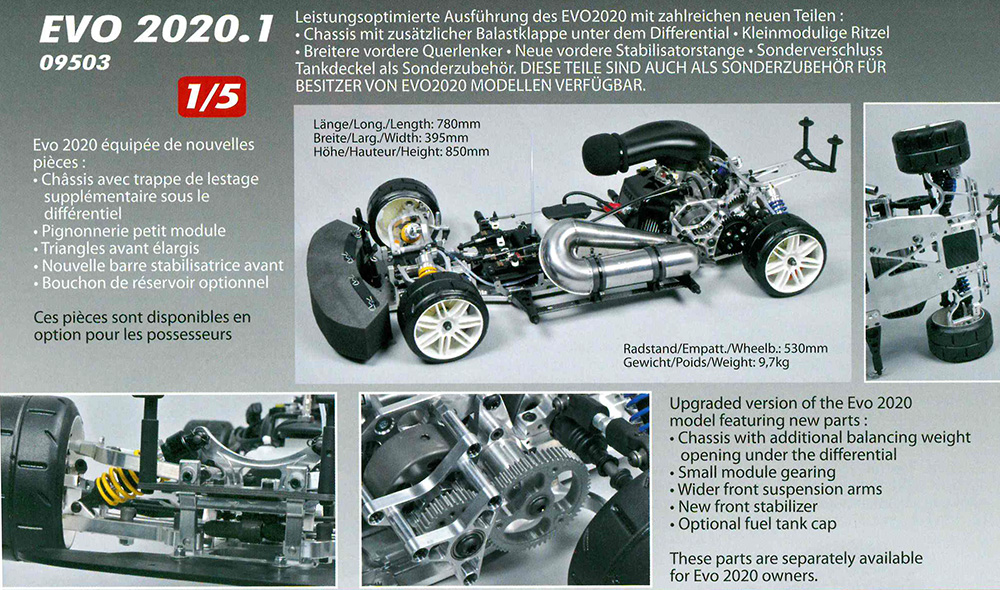 9504 FG Evo 2020.1 Basic kit with front/rear hydraulic brakes and ...