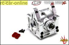 AREA-XL031 Front aluminum differential housing with integrated mounting brackets Losi DBXL / MTXL