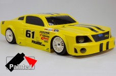 y1080 Painted Ford Mustang body shell 530/535 wheelbase