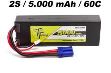 TT1530/250 Top Tuning 5000 mAh LiPo Akku 2S, 7,4V Premiumqua