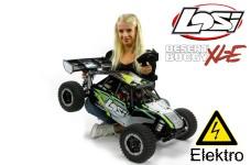 LOS05012T1 Losi Desert Buggy XL-E 4WD Elektro, schwarze Karo