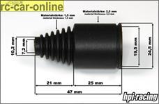 y86479 HighElastic Gummimanschetten 47 mm, 4er Set, verschie