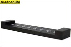 50040050 Lightscale Winkellehre, Aluminium, schwarz eloxiert