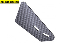 50053940 Lightscale carbon  winglet for airfoil, 1 pce.