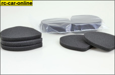 51023100 LIGHTSCALE filter pad for F1 airbox, 5 pcs.