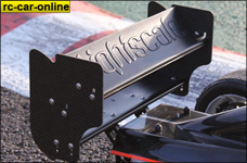 51050000 Lightscale Rear Wing Formula 1 complete, 1 pce.