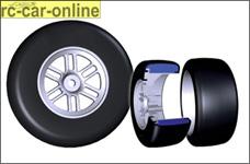 6202221 Roadies PRO F2 soft Slick Reifen Formel 1 verklebt,