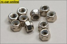 11447 Self-locking hexagon nut M3, 10 pcs.