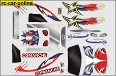 305032 Vehicle decal set for Comanche