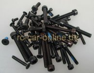 305156 Screw set for 1:6
