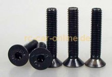 32434 Countersunk screw 5x25mm - 5pcs.