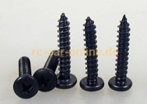 32443 Sheer metal screw 4,2x25mm - 5pcs.