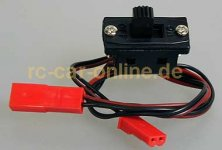 Receiver switch, BEC connectors, cs503024  - 1pce.