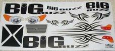 Fahrzeug-Dekorbogen Big Buzz, cs807007, 1 St.
