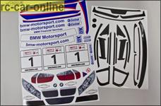 Team-Dekorbogen BMW 320si WTCC, y0078, 1 St.