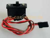 Receiver switch, universal connectors, F1408 - 1pce.