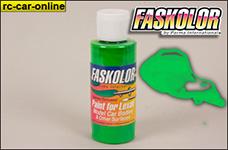 40107 Parma Faskolor Airbrush Farbe - Fluoreszierend grü
