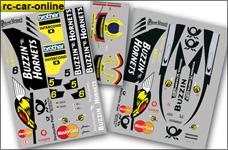 10269 FG Team-Dekorbogen Buzzin-Hornets Formel 1
