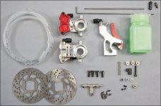 2004 FG Collari hydraulic Brake for front axle - Set