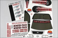 20155 FG Vehicle decals Monster / Stadium / Street Truck, se