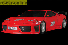 2065 FG Ferrari 360 GT Karosserie-Set 1:5 unlackiert  für 530/535er Radstand