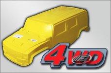 36110 FG Karosserie Monster/Stadium-Hummer H2 4WD gelb, 1 St