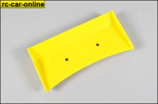 60110/02 FG Rear spoiler yellow, 1pce.