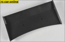 60130/02 FG Rear spoiler black, 1pce.