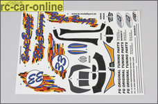 60155 FG Decal set Off-Road Buggy
