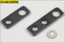 6037/01 FG Steel mounting plate - 2pcs.