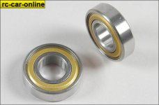 6040/05 FG bearing set 10x22x6 with grease filling - 2 pcs