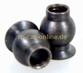 6077/05 FG Steel ball 10x13mm for rear upright - 2pcs.