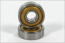 6078/05 FG Ball bearing 8x22x7mm with grease filling