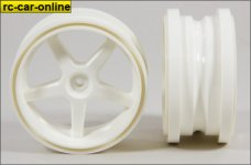 6105/02 FG Widened rim 1:6 white, with reinforcement ring -