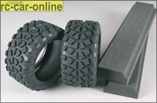 6230/01 FG Stadium-Truck Reifen medium, mit Einlagen