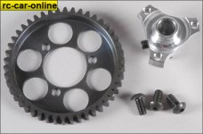 6492 FG Steel spur gear 46T with adapter - set