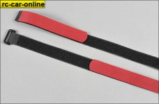6567 FG Cable hook-and-loop tape, 2 pcs.
