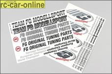 6571 FG Modell-Aufkleber