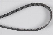 66237/01 FG Gilmer belt 15mm, 530/535 long, 1 pce.