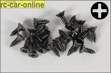 6712/16 FG Countersunk sheet metal screws 4,2x16 mm, 20 piec