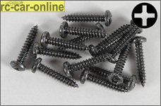 6716/25 FG Pan-head tapping screws 4,2x25 mm, 15 pieces